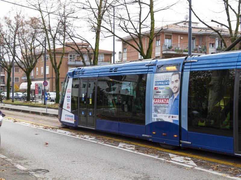 Pubblicità dinamica su Tram - Padova
